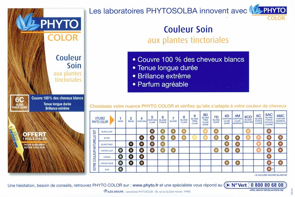 phyto color - Coloration Phyto