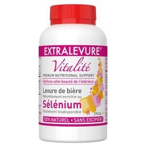 Extralevure Vitalité Sélénium 290 capsules