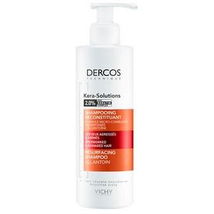 Vichy Dercos Kera-Solutions Shampooing Reconstituant 250 ml (Cheveux Agressés et Abîmés )