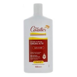 Rogé Cavaillès Gel bain et douche - Lait et miel 400ml