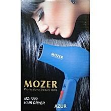 Mozer Mini Sèche-cheveux de voyage pliable MZ-1200 (Bleu)