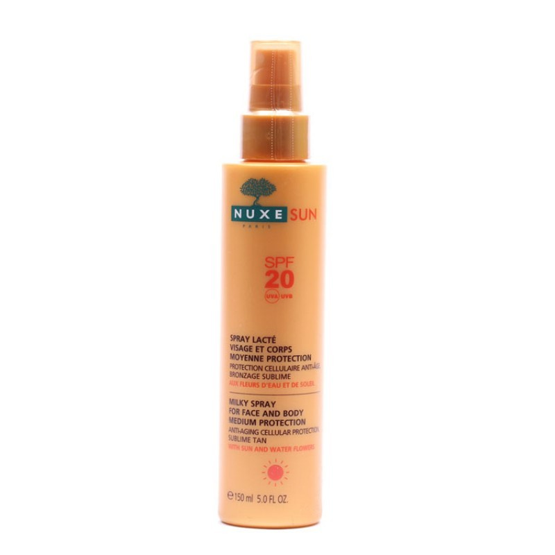 Nuxe Sun Spray Visage et Corps SPF 20  150 ml