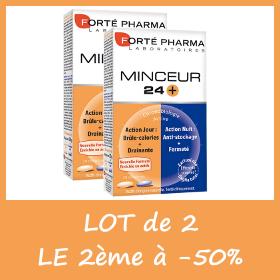 Offre Lot de 2 - Forté Pharma MINCEUR 24+ - LE 2ème à -50%