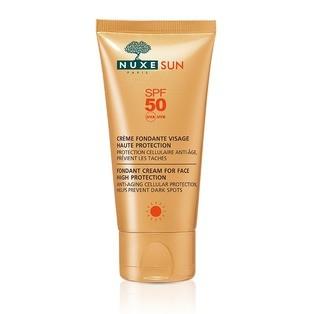 Nuxe Sun Crème Fondante Visage Haute Protection SPF 50 - 50 ml