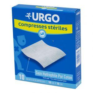Urgo Compresses Steriles 40X40cm Boite de 10
