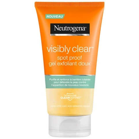 Neutrogena Visibly clear spot proof : gel exfoliant doux (150 ml)