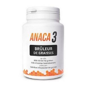 ANACA3 Brûleur de Graisses 60 Gélules (30 Jours)
