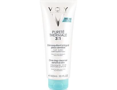 Promotion Vichy Purete Thermale Démaquillant Intégral 300ml