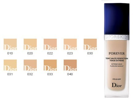 DIORSKIN FOREVER, teint haute perfection tenue fusionnelle