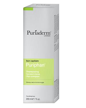 Puriaderm puriphan Shampooing Hydratant Intense cheveux secs et Endommagés 200ml