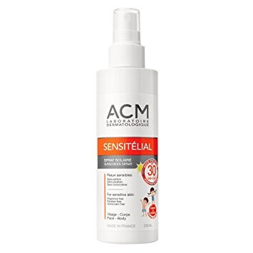 ACM Sensitélial spray solaire (SPF 30) 200ml