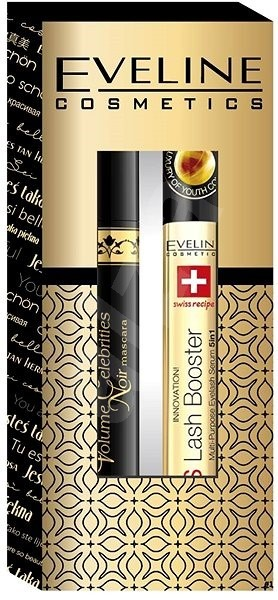Pack Eveline Cosmetics (Mascara Volume Celebrites Noir, Eyelash Booster)