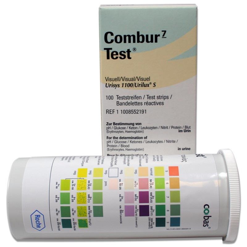 Bandelettes Urinaires Combur 7 Test (50 Unités)