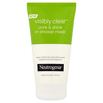 Neutrogena visibly clear® shine & pore : masque sous la douche matifiant