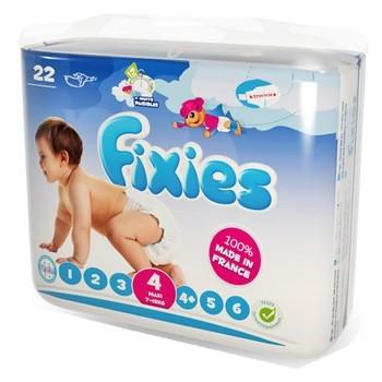 Fixies Couche Maxi T-4 (de 7 à 18 Kg) 22 couches