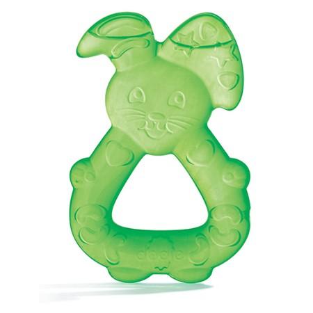Dodie Anneau de Dentition Réfrigéré Lapin Vert