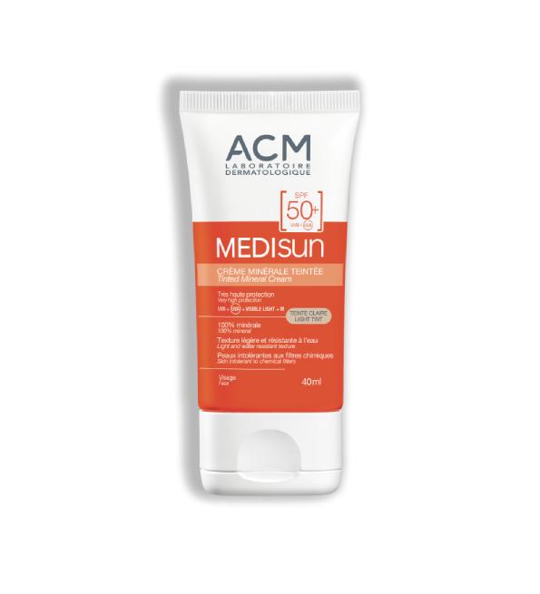 Acm Medisun ecran Teinte claire Spf50+ 40ml