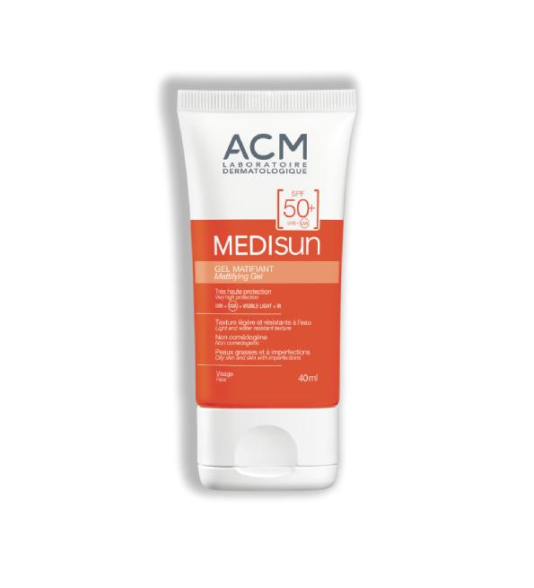 Acm Medisun Gel Ecran Matifiant spf50+ 40ml