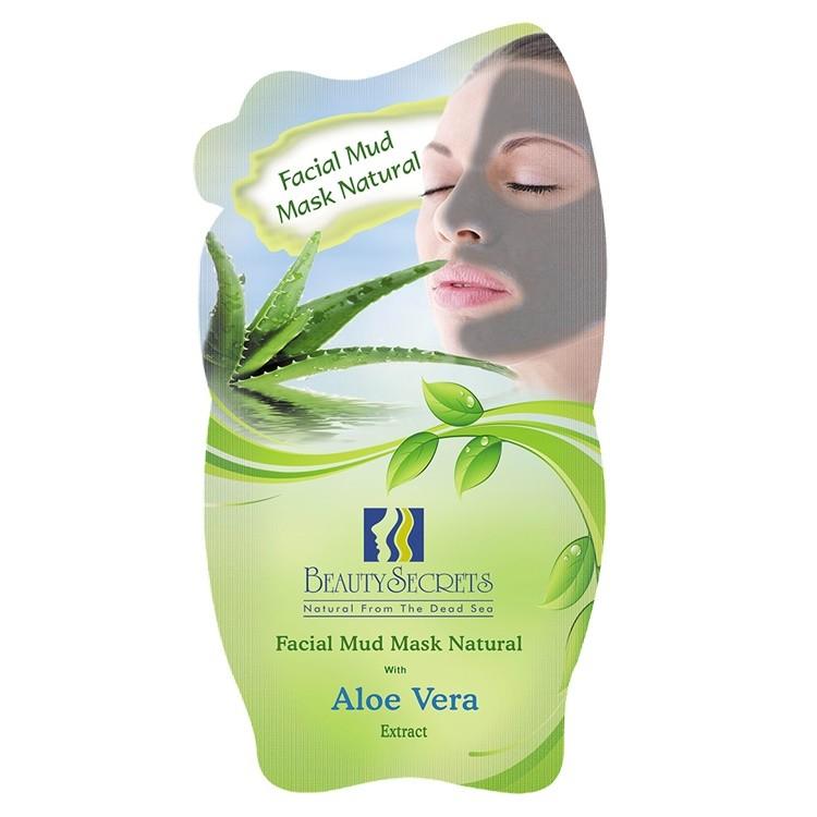 Beauty Secrets Masque facial a la Boue de la Mer Morte Avec l'extrait de Aloe Vera 35g