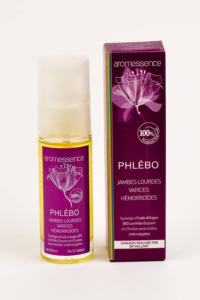Aromessence Phlébo  - Jambes lourdes - Varices - Hémorroïdes 30ml