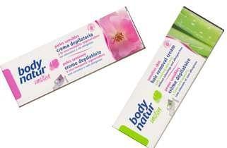 Body-natur crème dépilatoire sensitive ( à l'huile de rose musquée ou à l'aloe vera) 100 ml