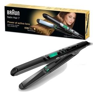 Braun lisseur satin hair 7 slim plates ES2 technologie IONTEC st710 (garantie 2 ans)