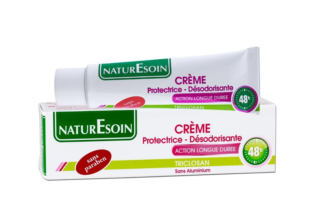 NaturEsoin Crème Protectrice -Désodorisante Action Longue Durée 48h (30ml)