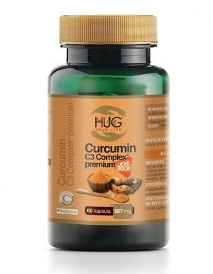 HUG Curcumin C3 complex premium (60 cap)