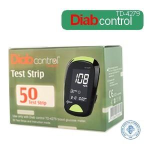 Diabcontrol 50 bandelettes TD-4279 sans code