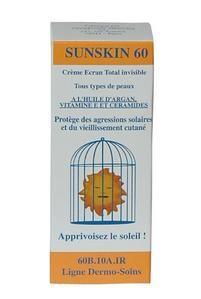 Dermo-Soins Sunskin 60 Crème Solaire