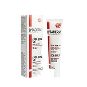 EPTADERM EptaSun 50+ Crème Visage invisible spf50+