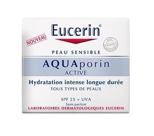 EUCERIN AQUAporin ACTIVE Soin Hydratant Protecteur SPF 25 (50ml)