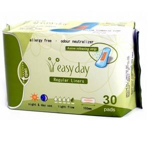Easy Day 30 protège dessous régulier 155 mm jours et nuit