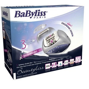 Babyliss Epilateur Electrique Beautyliss 72 pinces 3 en 1 G895E