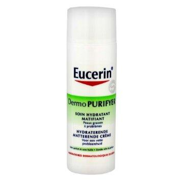 Eucerin DermoPurifyer Soin Hydratant accompagnateur - Crème Jour SFP30 (50ml)