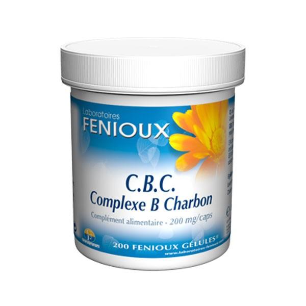 Fenioux CBC Complexe B Charbon 200 Gélules