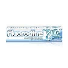Fluorodine oxygen white dentifrice blancheur 100ml