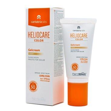 Heliocare color gelcream light spf 50 50ml