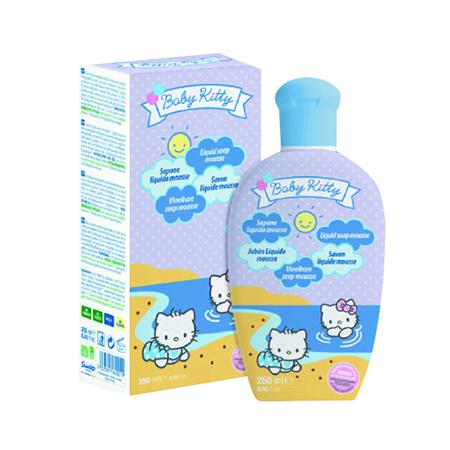 Hello Kitty Savon Liquide Mousse Flacon Pompe 250 ml