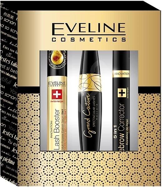 Pack Eveline Cosmetics ( Eyelash Bosster, Mascara Grand Couture, Correcteur Sourcils)
