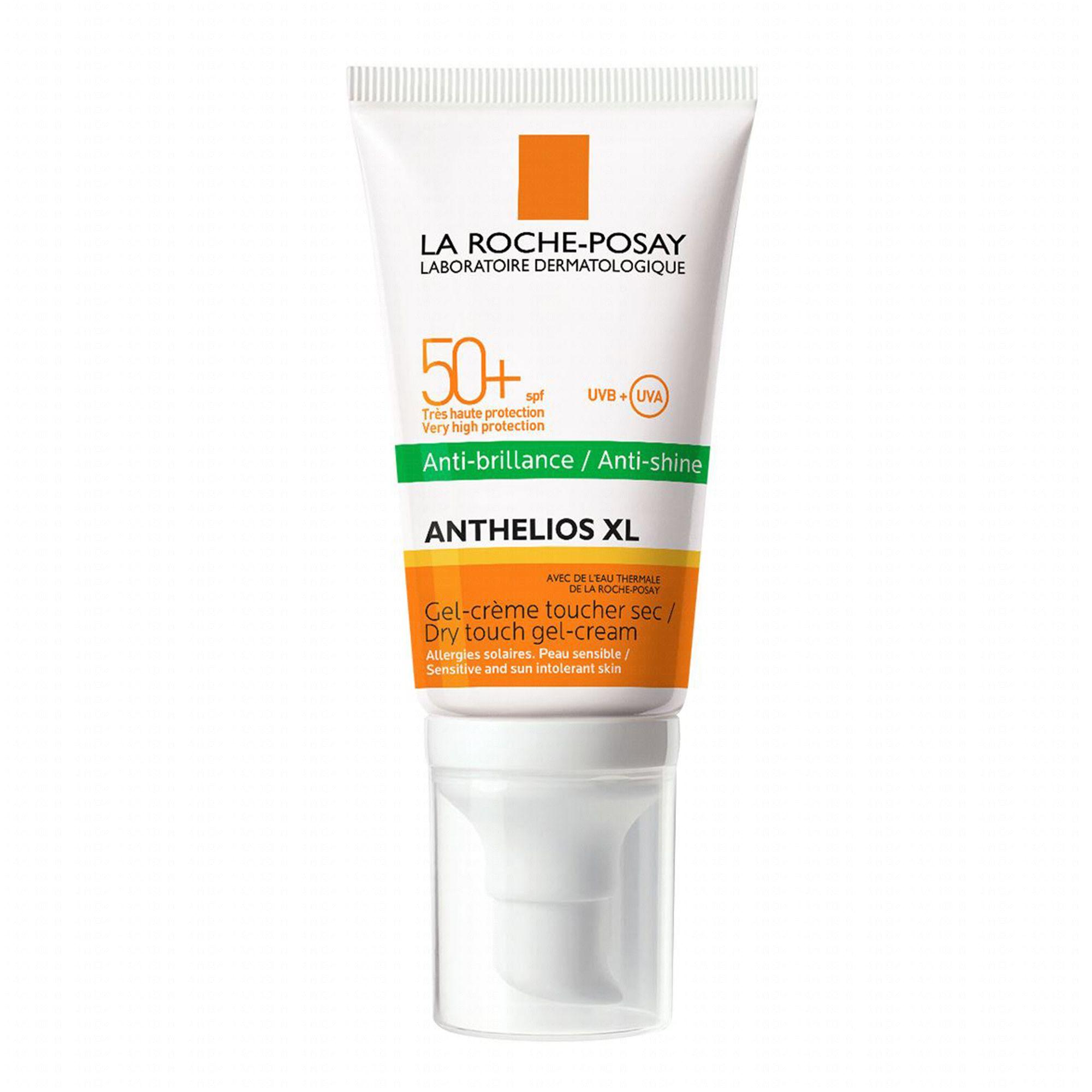 La Roche posay Anthelios XL anti-brillance gel/crème toucher sec spf 50 (50 ml)