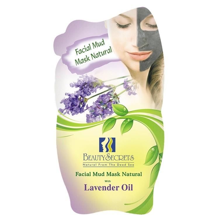 Beauty Secrets Masque facial a la Boue de la Mer Morte Avec l'extrait de Lavender Oil 35g