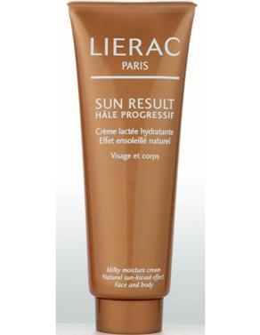 LIERAC SUN RESULT AUTOBRONZANT Crème Lactée Hydratante 125 ml