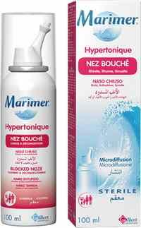 MARIMER SPRAY HYPERTONIQUE NEZ BOUCHÉ (100 ml)