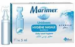 Marimer sérum physiologique hygiene nasale UNIDOSE STÉRILE 18x5ml
