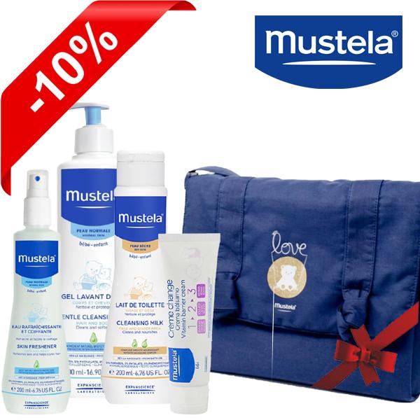 Offre Pack Mustela pour soin bébé + Sac Offert