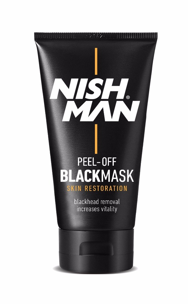NISHMAN Peel Off blackmask masque noir anti point noir 150 ml