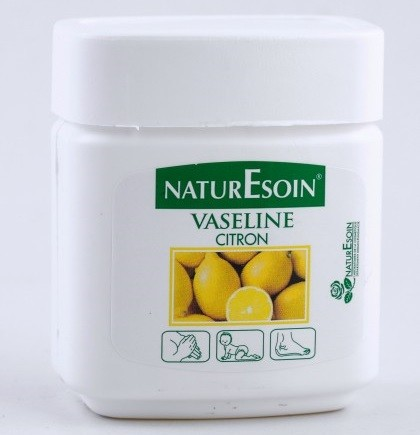 NaturEsoin Vaseline Citron en pot 120 ml