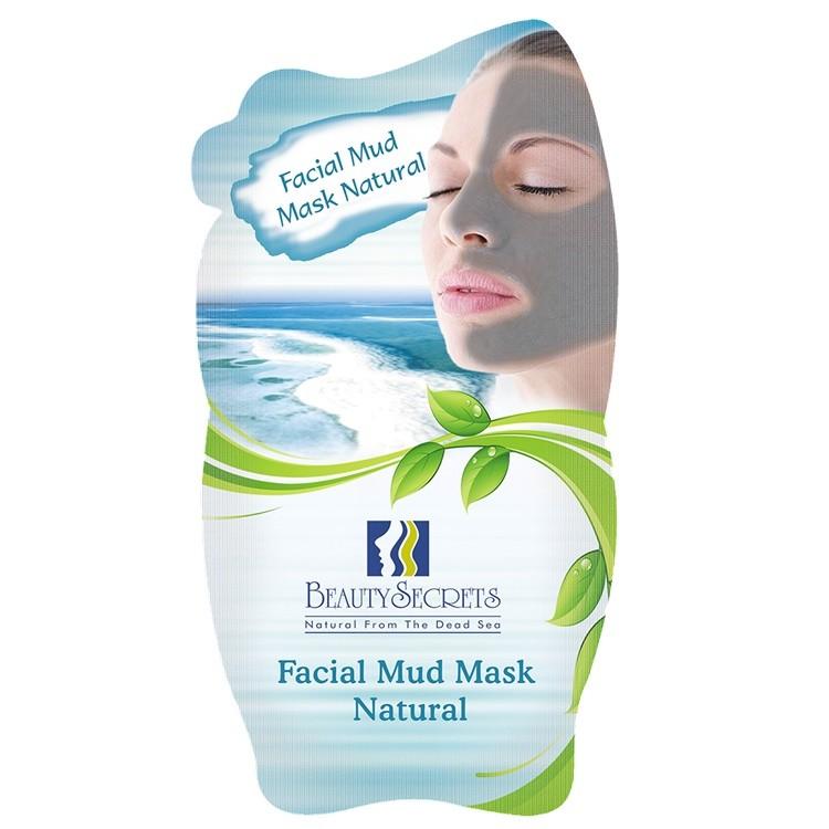 Beauty Secrets Masque facial a la Boue de la Mer Morte Avec l'extrait de Natural 35g