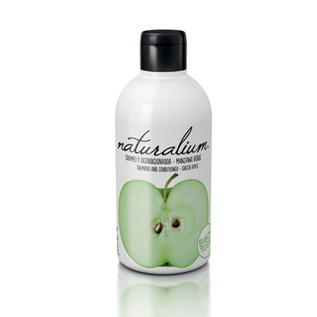 Naturalium Shampoo and contitioner - Green Apple Shampooing 400ml